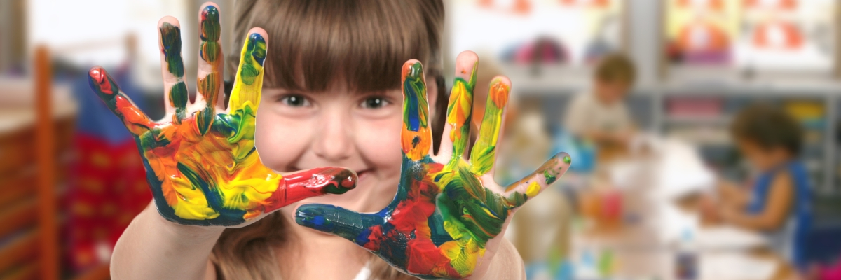 dítě a barvy - školní potřeby
